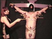 free video - saran wrapped slave - whipped clips